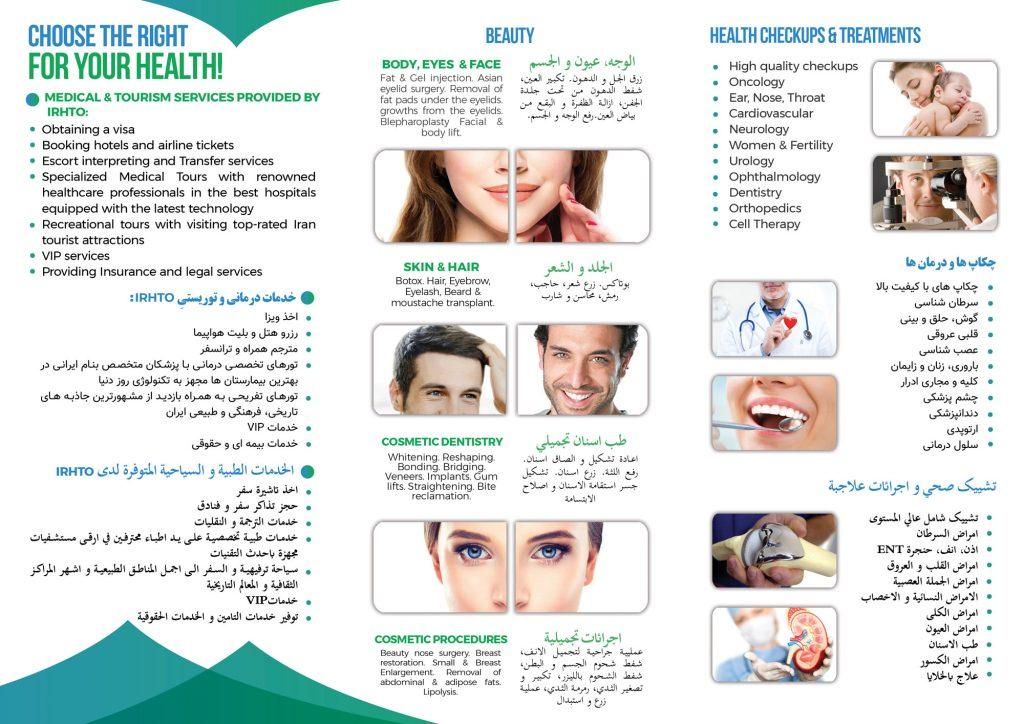 Iran Health And Mecial Tourism - IRHTO